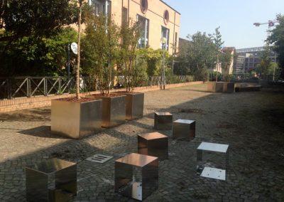 MATECA - Landeres bePOPP, Bologna Pocket Park
